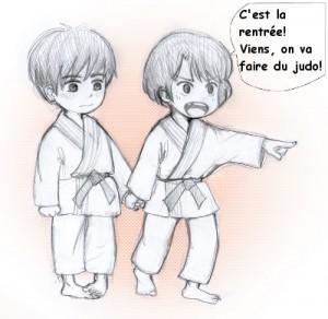 rentrée judo
